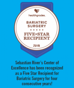 Bariatric Surgery Five-Star Recipient